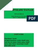 Materi Klasifikasi Tanah 11