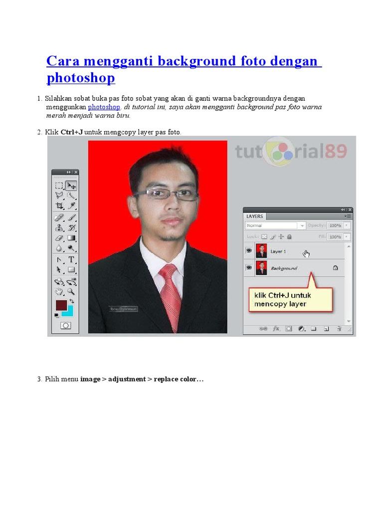 30+ Ide Keren Cara Edit Foto Ganti Background Warna Di ...