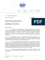 Proposit° amnd Annexe 14 vol I et des PANS-Aérodromes (Doc 9981)