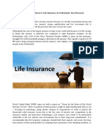 Life Insurance Sector Trends Netherlands,Netherlands Life Insurance Regulations-ken Research