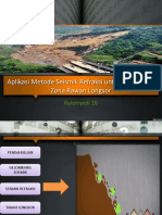 Aplikasi Seismic Reflaksi Untuk Longsor - Copy