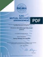 Dakks ILAC MRA