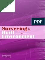 Surveying & Built Environment Vol. 22 Issue 1 (Dec12)