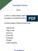Al Mohandiss - Chapitre 2 Caractéristiques Des Matériaux