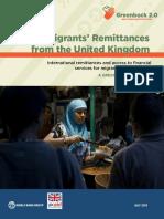 Migrants Remittances Uk