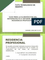 Guia_elaborar_anteproyecto y Reportefinalresidencia 2017