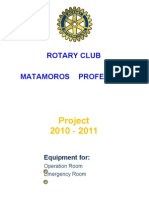 Are You a Member of a Rotary Club. 'Lets Help the Red Cross'
