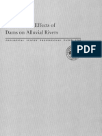 Downstream Effects of Dams on Alluvial Rivers_1984