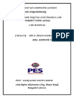 Cse Ade Lab Manual 2016