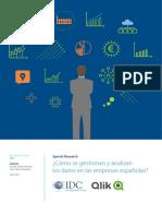 Qlik IDC Estudio de Mercado Data Driven Enterprise