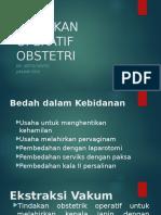Tindakan Operatif Obstetri