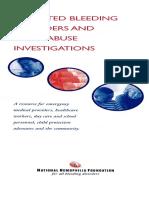 InheritedBleedingDisorders ChildAbuse Investigations