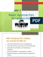 Chapter 3 - Theories of Leadership