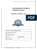 unit 2 model car 2017 assessment task cover sheet and report template moussa