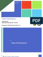 Case Chf, Cap, Dm Tipe 2 - Dr. Ruddy, Sp.pd