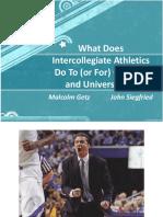 College Sports Presentation