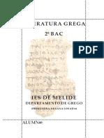 Temario Grego 2bac . Curso 2017-2018