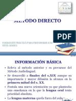 4-Método Directo 2015 Cv