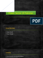 Power Sector of Pakistan