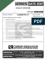 Gate Test Series 1 Chemistry