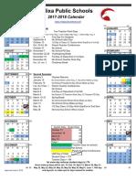 NPS Calendar