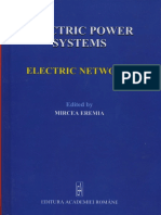 Electric Power Systems. Vol. I. Electric Networks