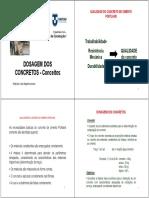 Dosagem Dos Concretos_2017