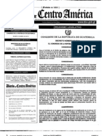 Decreto 22-2010 REFORMAS Código Municipal