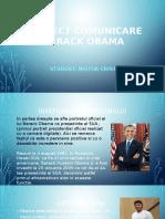 Proiect Comunicare Barack Obama