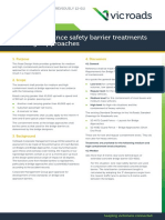 Road Design Note 0607 Performance Safety Barrier Treatments at Bridge Approaches