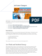 2017 Arc Flash Game Changers