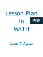 Lesson Plan In MATH.docx