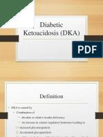 Diabetic Ketoacidosis (DKA) - Presentation Slide Edited