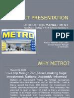 Metro Project