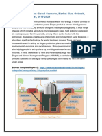 Biogas Plant Market Global Scenario, Market Size, Outlook, Trend And Forecast, 2015-2024