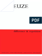 Gilles Deleuze Difference and Repetition 2