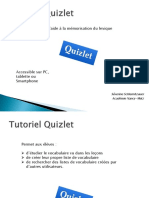 tutoriel quizlet traam2013