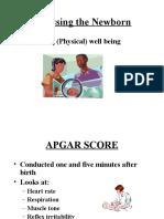 Assessing the Newborn.ppt