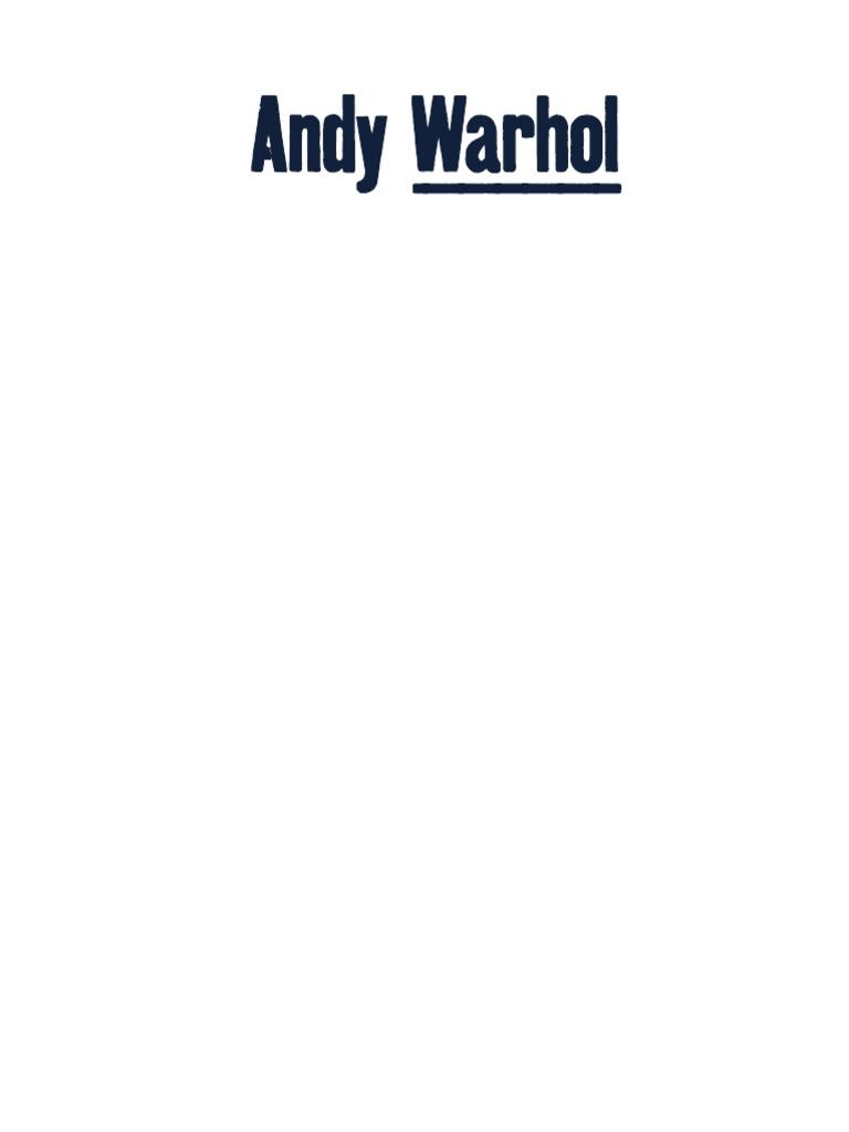 Andy WARHOL. Estrella Oscura. Colección JUMEX. 2017