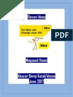 Eleven Ideas