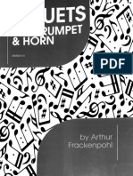 Frackenpohl - Horn and Trumpet Duets