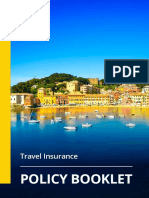 Value Policy Booklet Travel Insurance April 2016