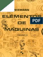 Elementos de Maquinas Calculo, Diseño y Construccion 3 g.niemann