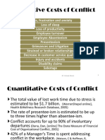 COST n Conflict