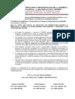 Manifiesto Por Despidos Itaipu Binacional