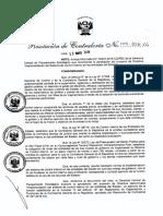 R.C 149-2016-CG Directiva N° 013-2016-CGGPROD denominada Implementación del Sistema de Control Interno en la entidades del Estado