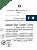 R.C. 133-2015-CG Directiva N° 005-2015-CGPROCAL Fiscalización Posterior en los procedimientos administrativos comprendidos en el TUPA de la Contraloría General de la República