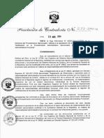 R.C. N° 233-2014-CG Directiva N° 002-2014-CGPAS Notificación en el Procedimiento Administrativo Sancionador por Responsabilidad Administrativa Funcional