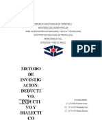 Definicion Del Metodo de Investigacion Deductivo