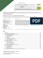 Development of Peptide and Protein Nanotherapeutics by Nanoencapsulation and Nanobioconjugation